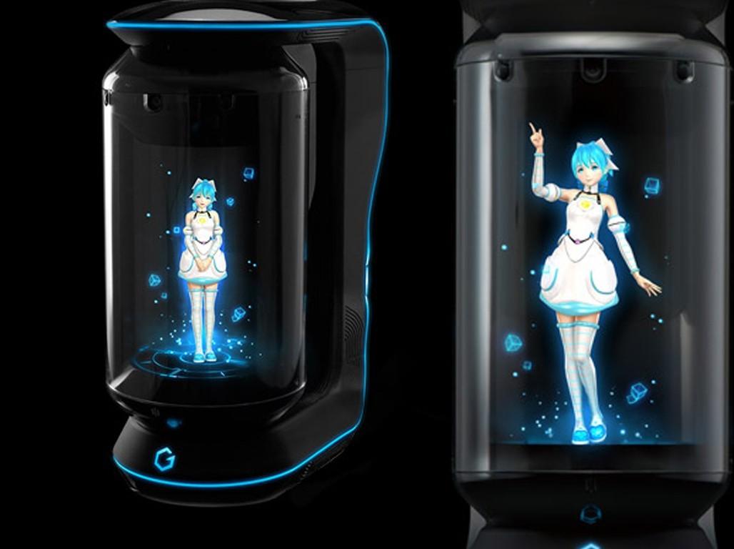 gatebox holograma