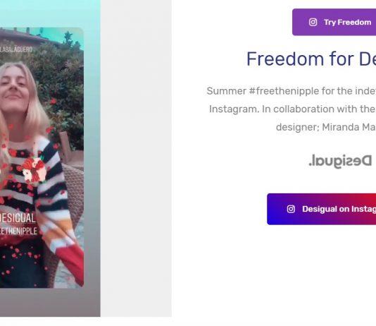 freedom filter realidad aumentada