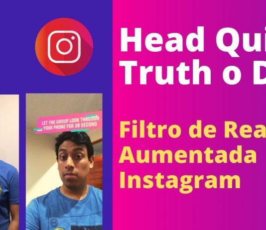 head quiz realidad aumentada instagram