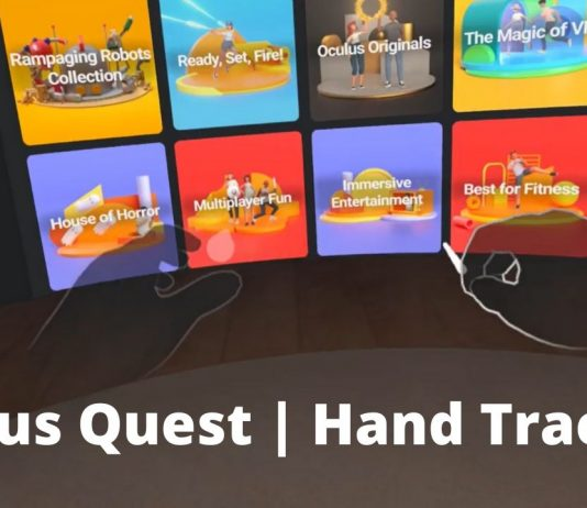 oculus quest hand tracking