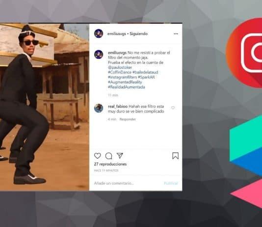 coffin dance instagram filter