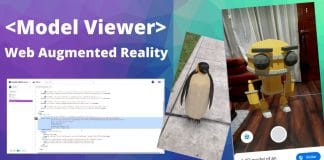 model viewer google realidad aumentada