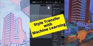 lens studio machine learning style transfer