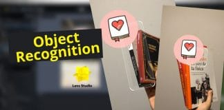 snapchat lens studio object recognition