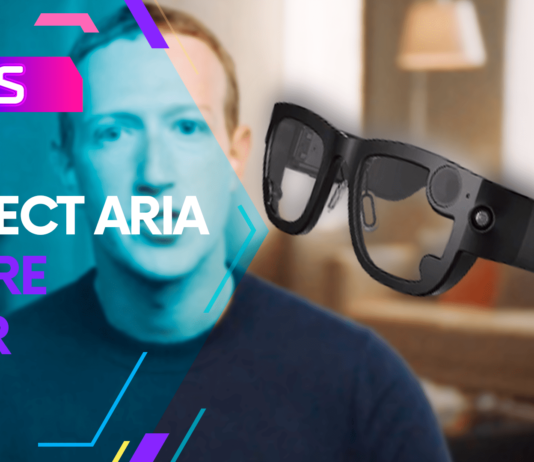 project aria smart glasses AR