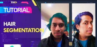 Spark AR hair segmentation
