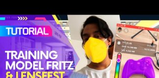 Fritz para Lens Studio