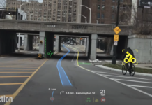 AR Panasonic Head-up display