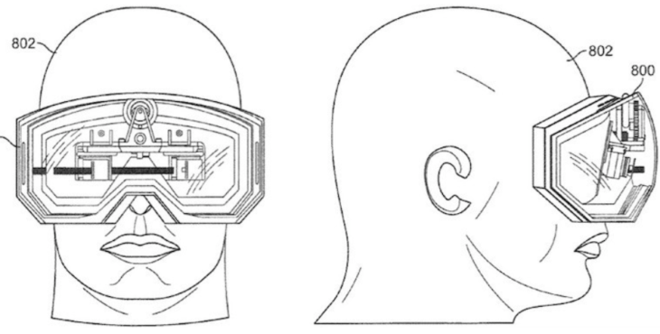 Apple AR lenses
