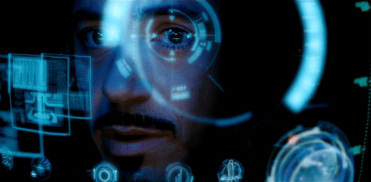 iron man headset realidad aumentada augmented reality