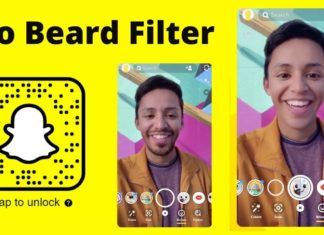 no beard snapchat filter lenses