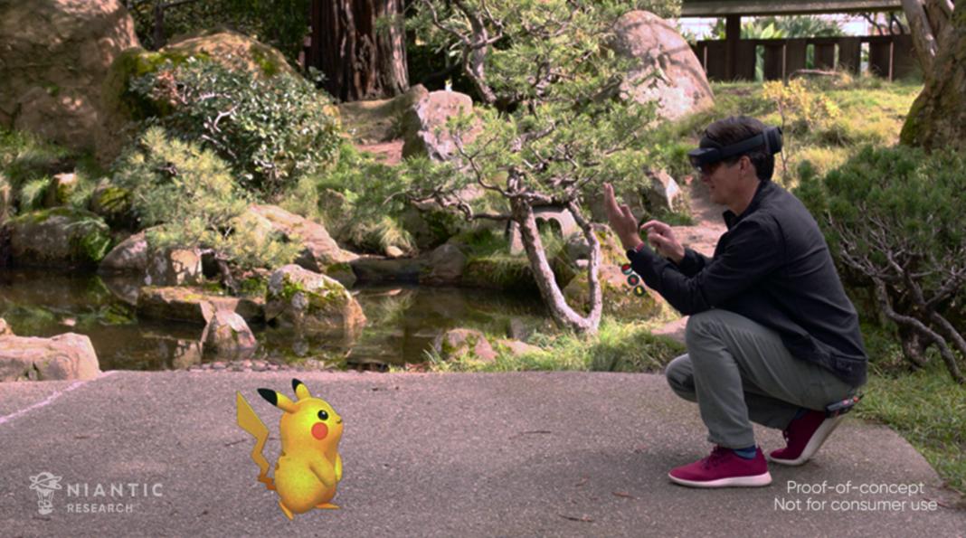 realidad mixta pokemon go