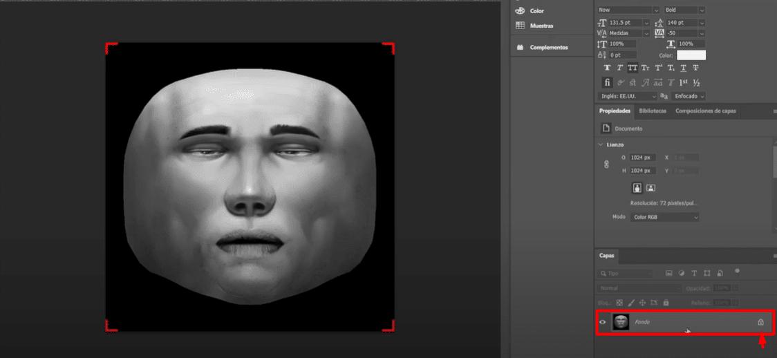 Spark AR Extracción rostro
